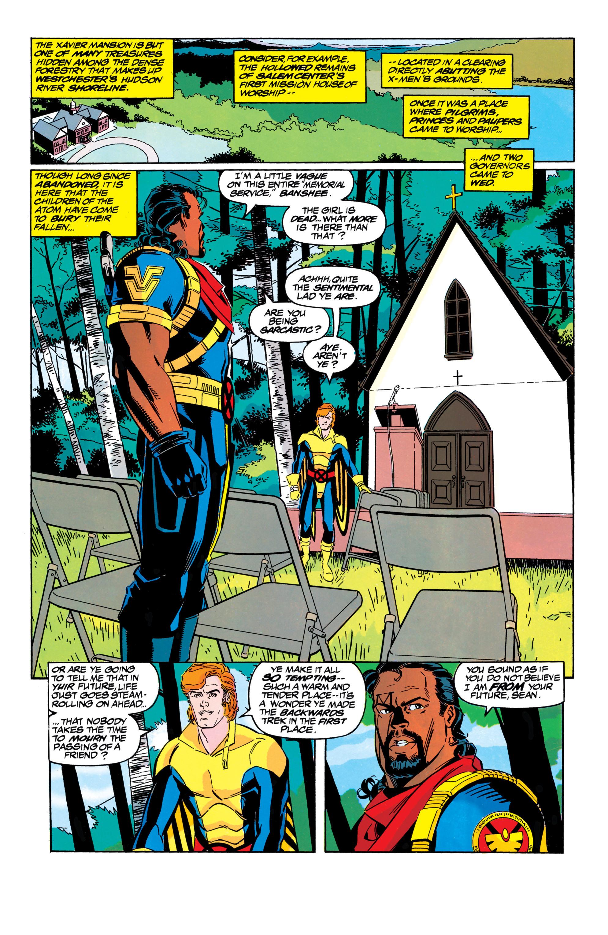 Read online Uncanny X-Men (1963) comic -  Issue #304 - 21