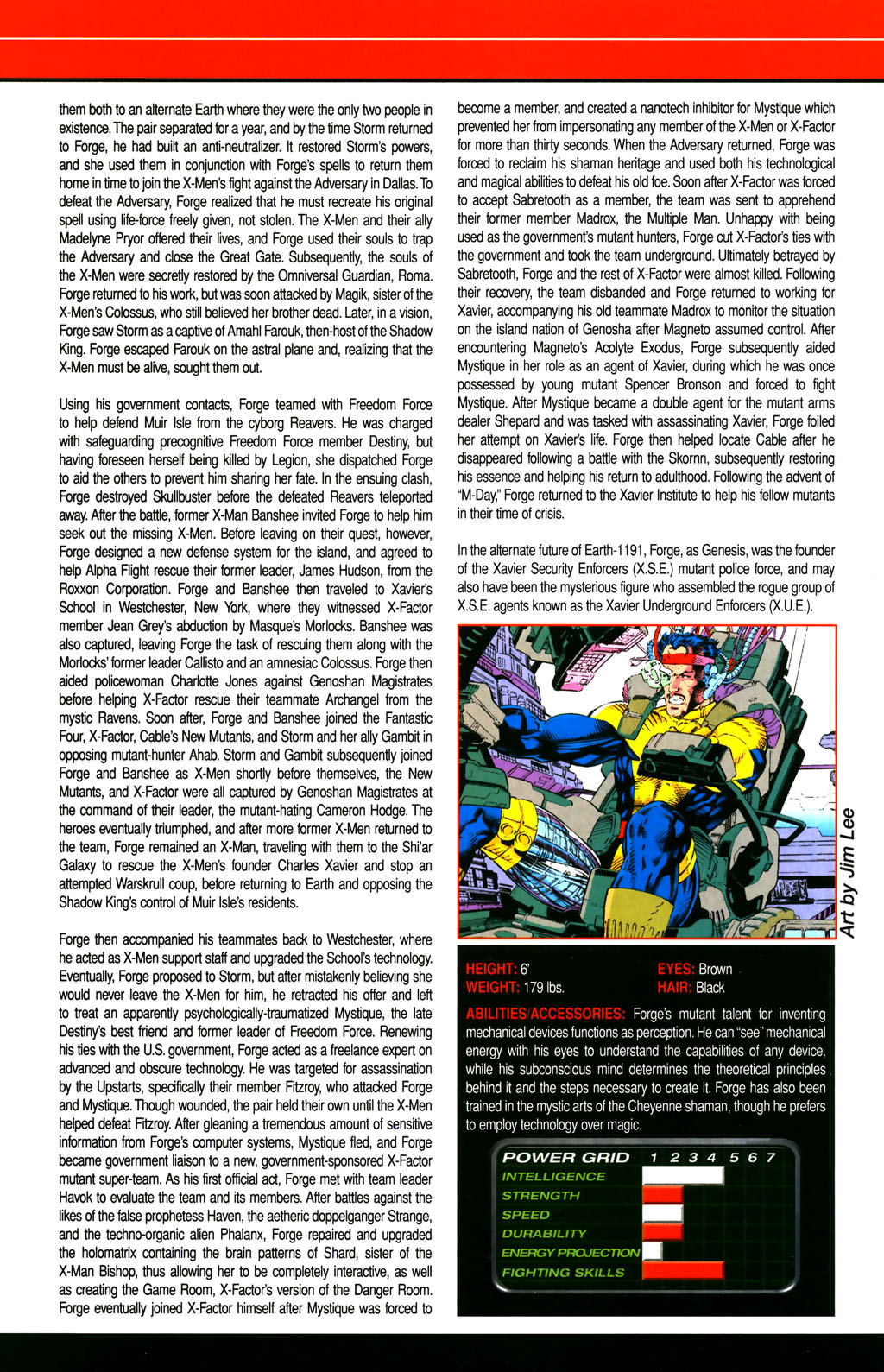 Read online All-New Official Handbook of the Marvel Universe A to Z comic -  Issue #4 - 44