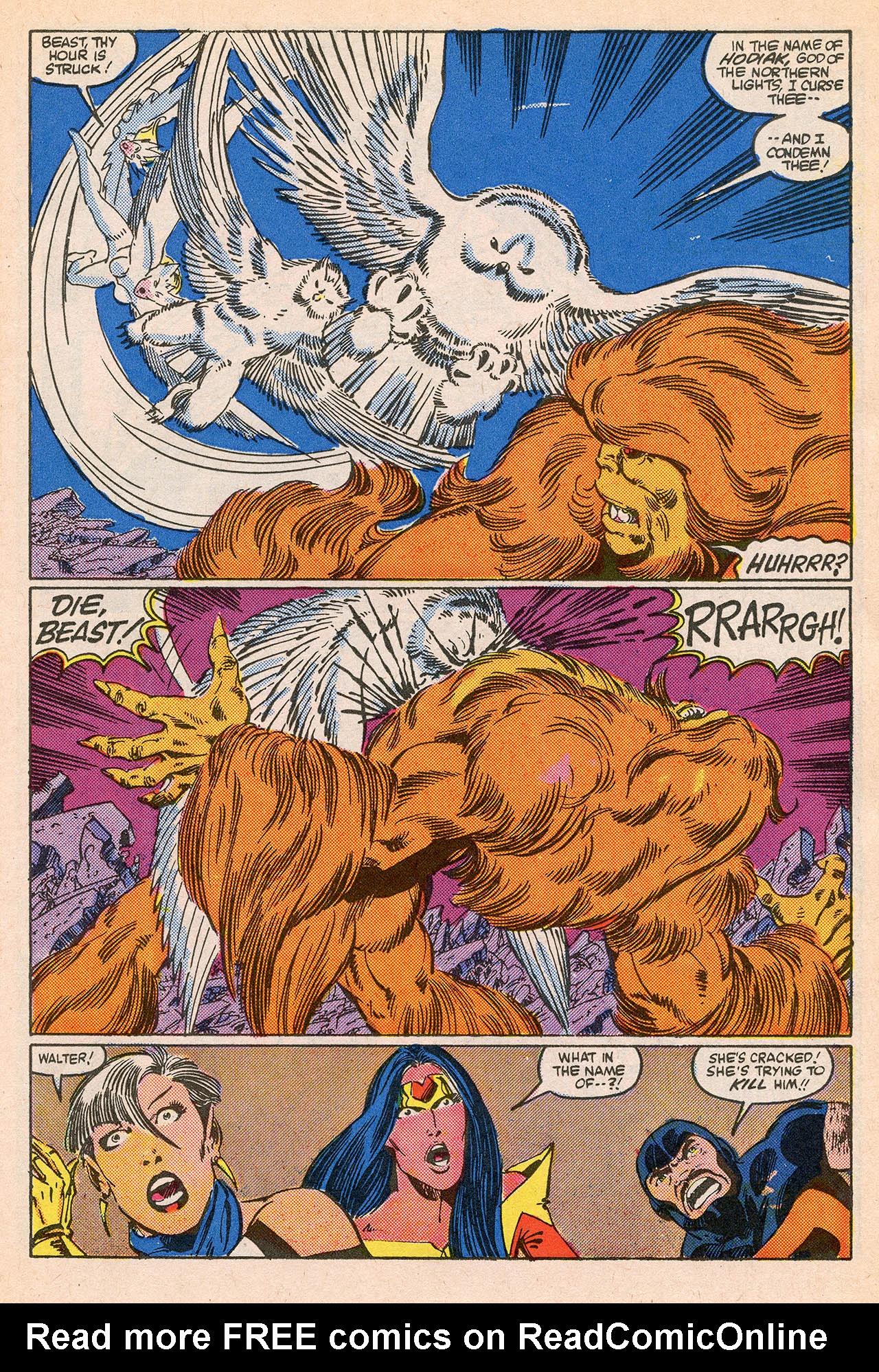Read online Alpha Flight (1983) comic -  Issue #23 - 19