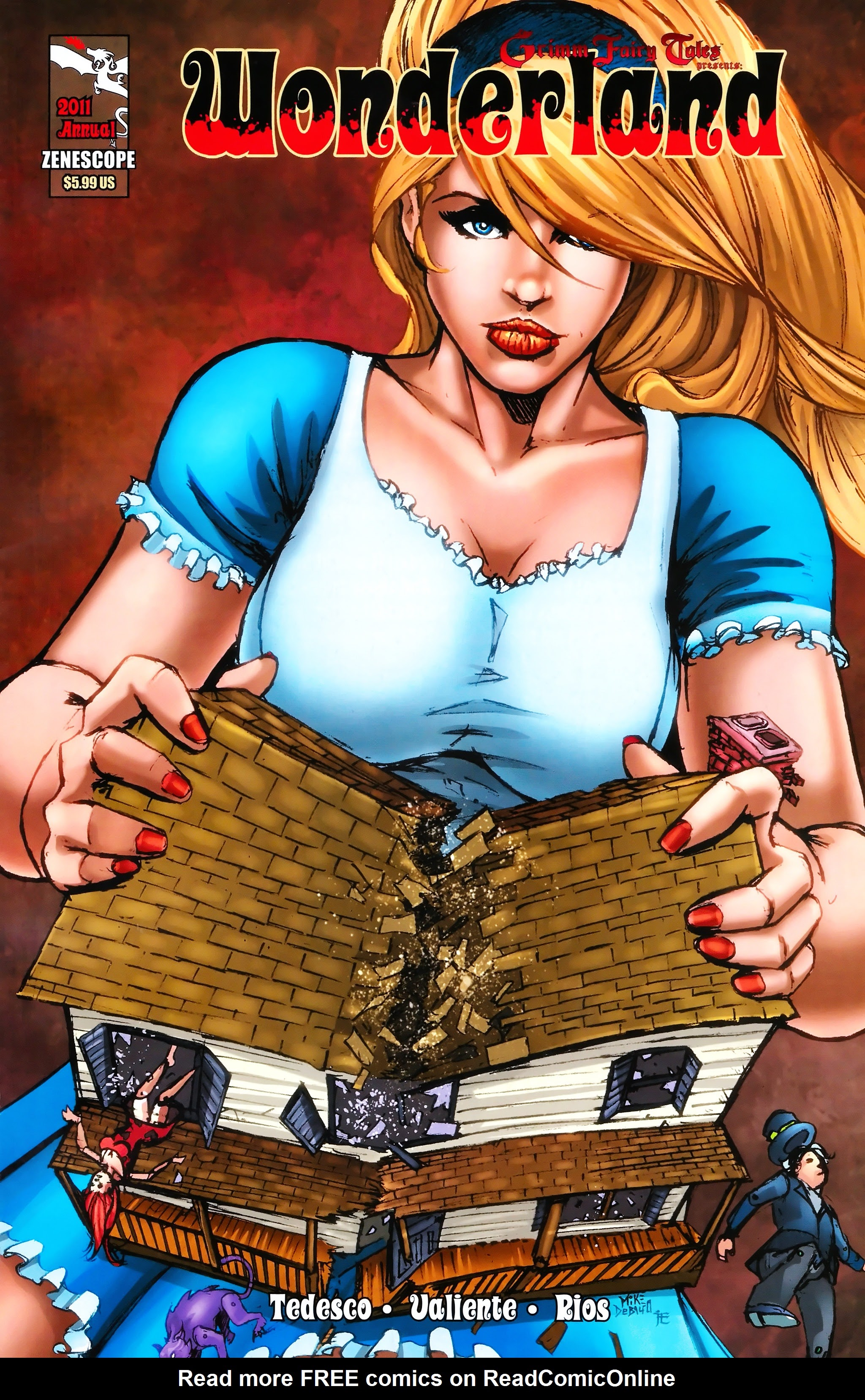 Grimm Fairy Tales presents Wonderland: Annual 2011 Page 1