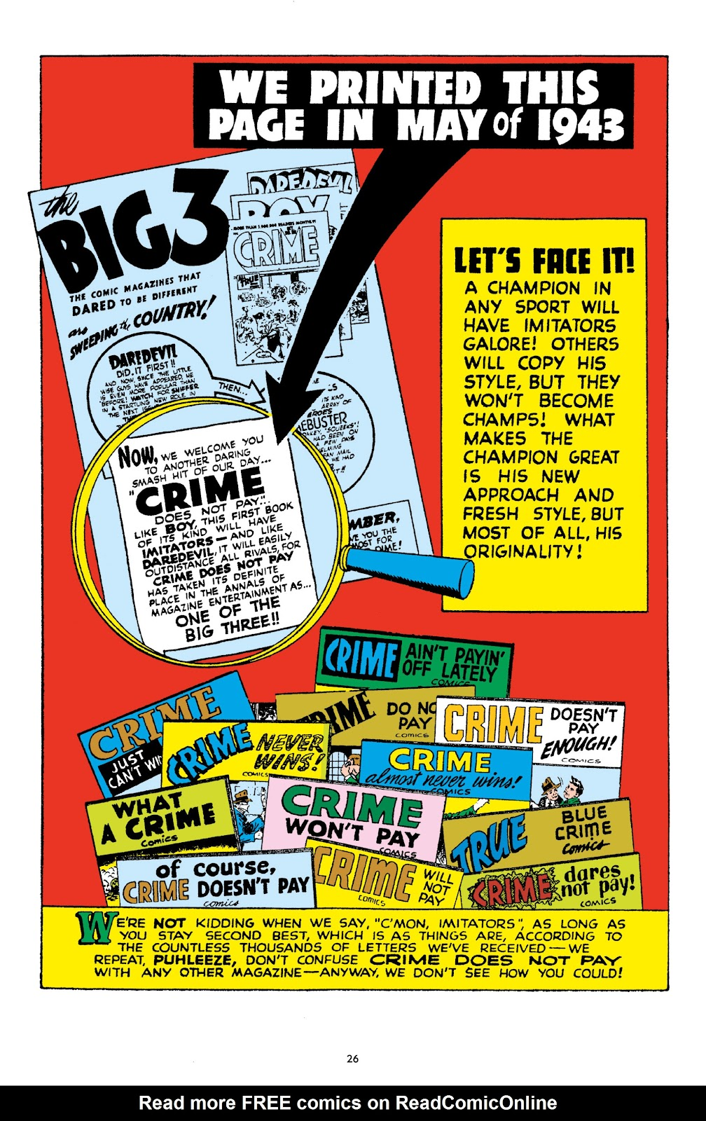 Read online Crime Does Not Pay Archives comic -  Issue # TPB 10 (Part 1) - 28