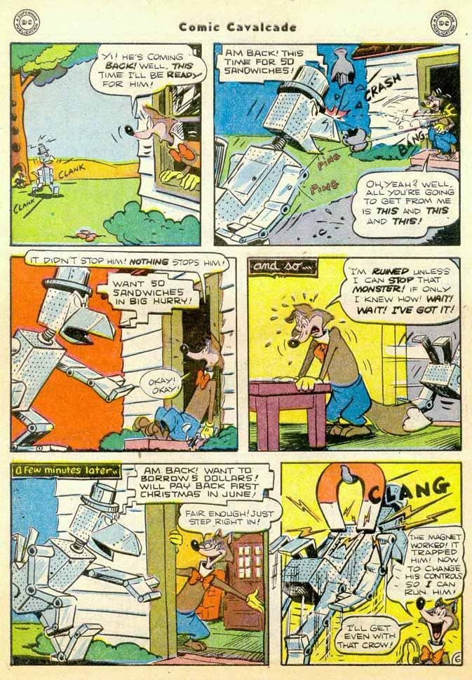 Comic Cavalcade issue 35 - Page 8