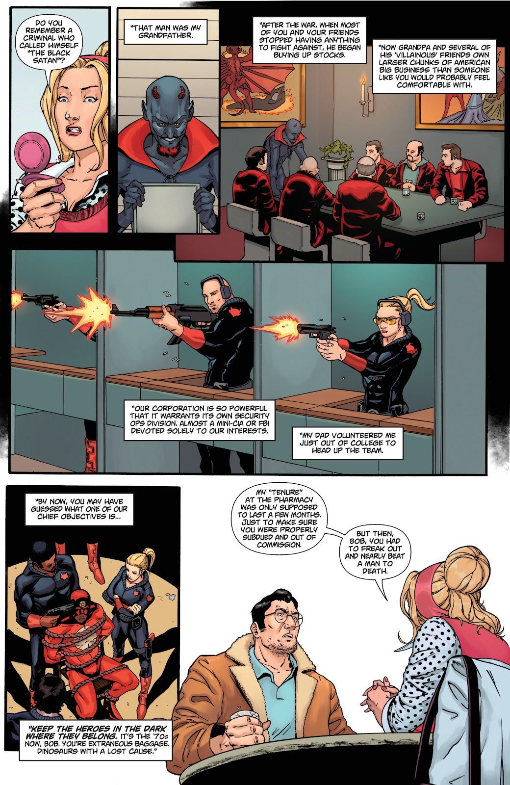 Read online Black Terror (2019) comic -  Issue # Full - 23