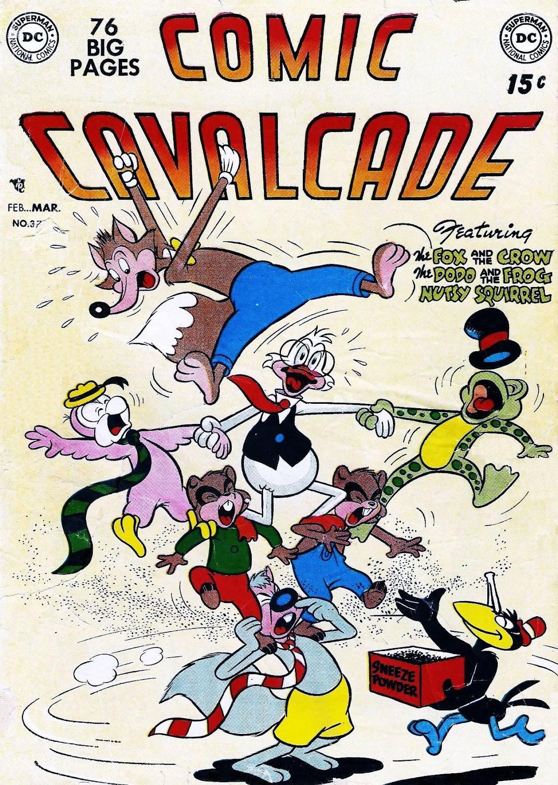 Comic Cavalcade issue 37 - Page 1