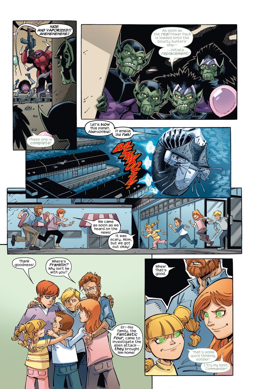 Read online Skrulls vs. Power Pack comic -  Issue #1 - 11