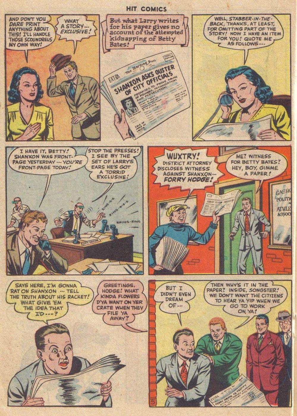 Read online Hit Comics comic -  Issue #46 - 34