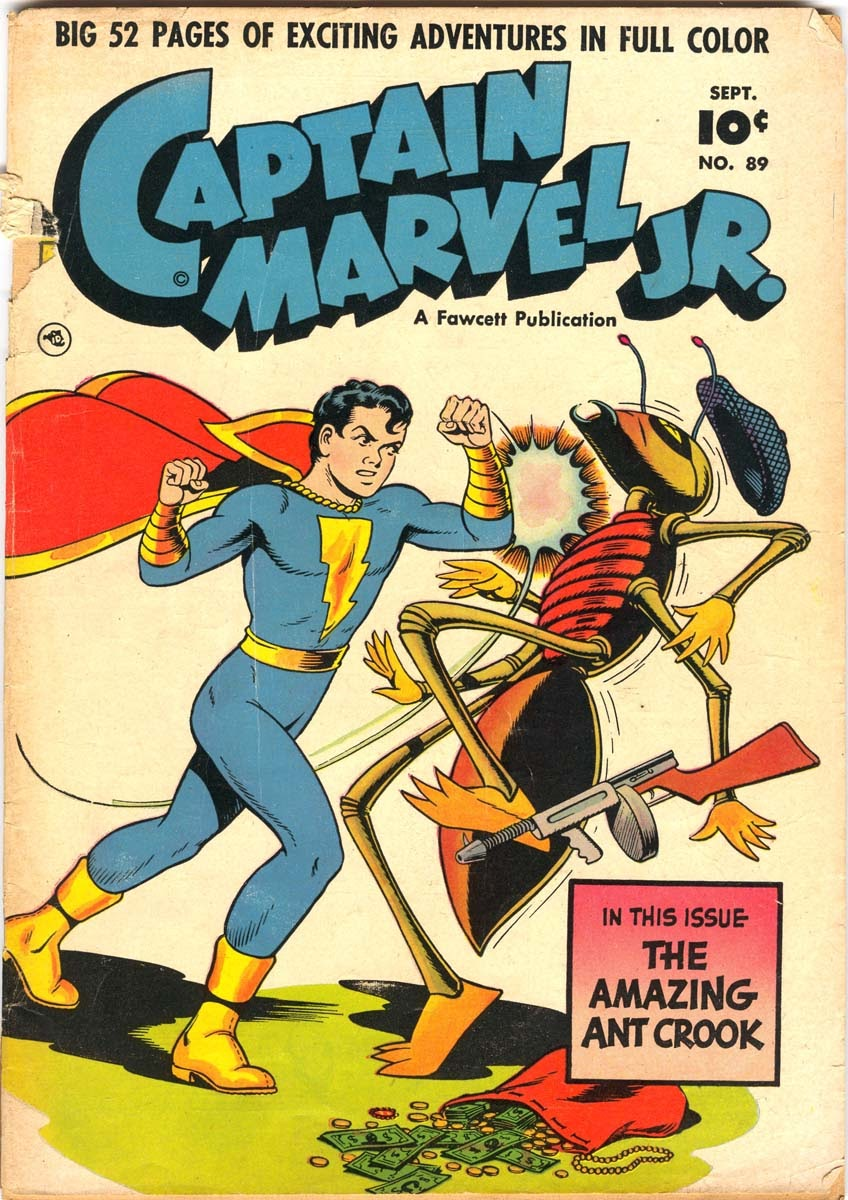 Captain Marvel, Jr. issue 89 - Page 1