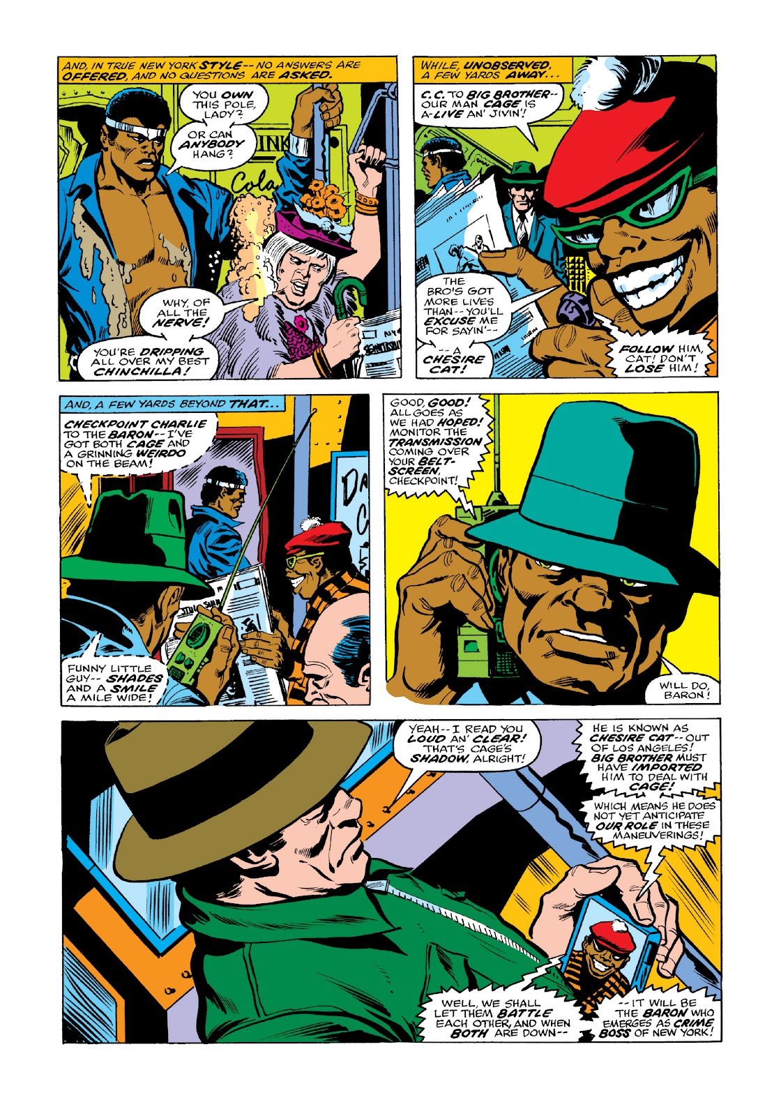 Read online Marvel Masterworks: Luke Cage, Power Man comic -  Issue # TPB 3 (Part 2) - 41