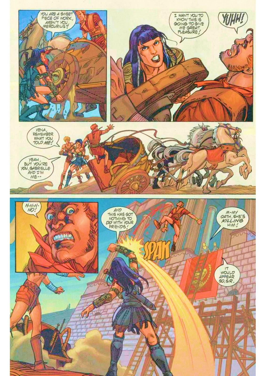 Xena: Warrior Princess (1999) Issue #7 #7 - English 21