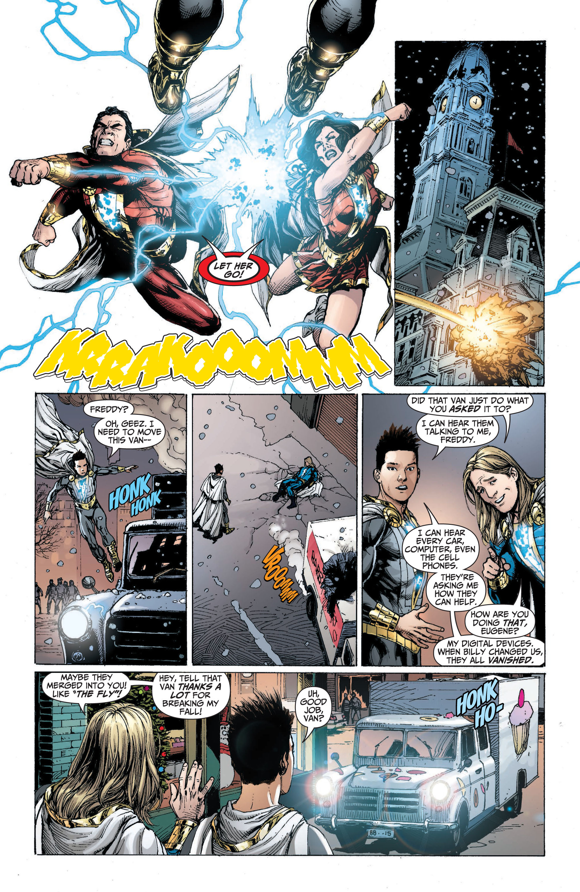 Read online Shazam! (2013) comic -  Issue #1 - 159
