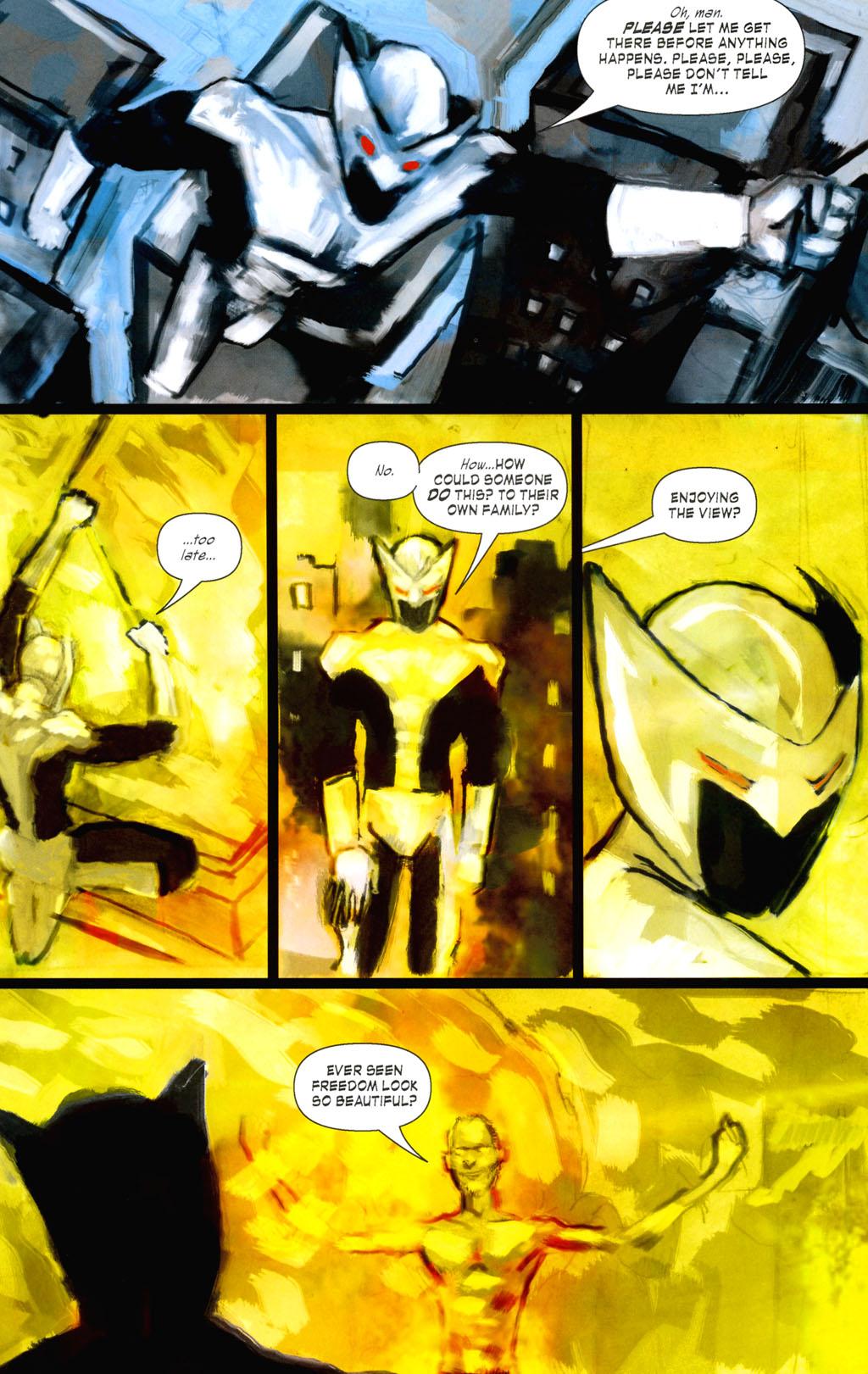Read online ShadowHawk (2005) comic -  Issue #8 - 14
