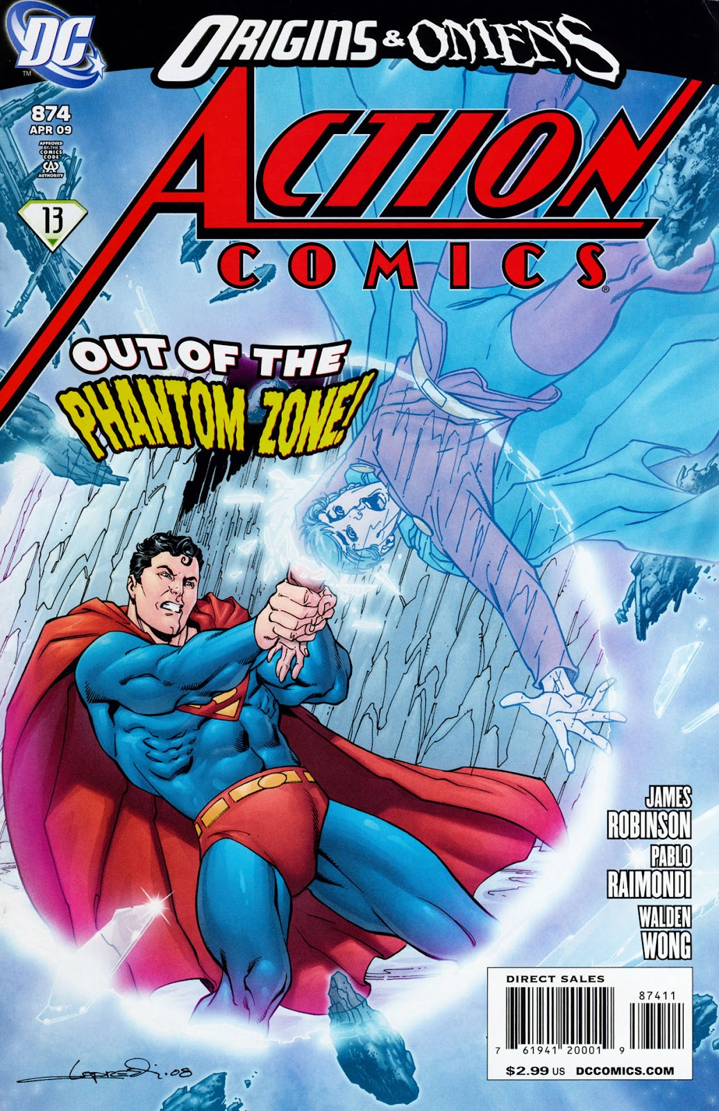 Action Comics (1938) 874 Page 1