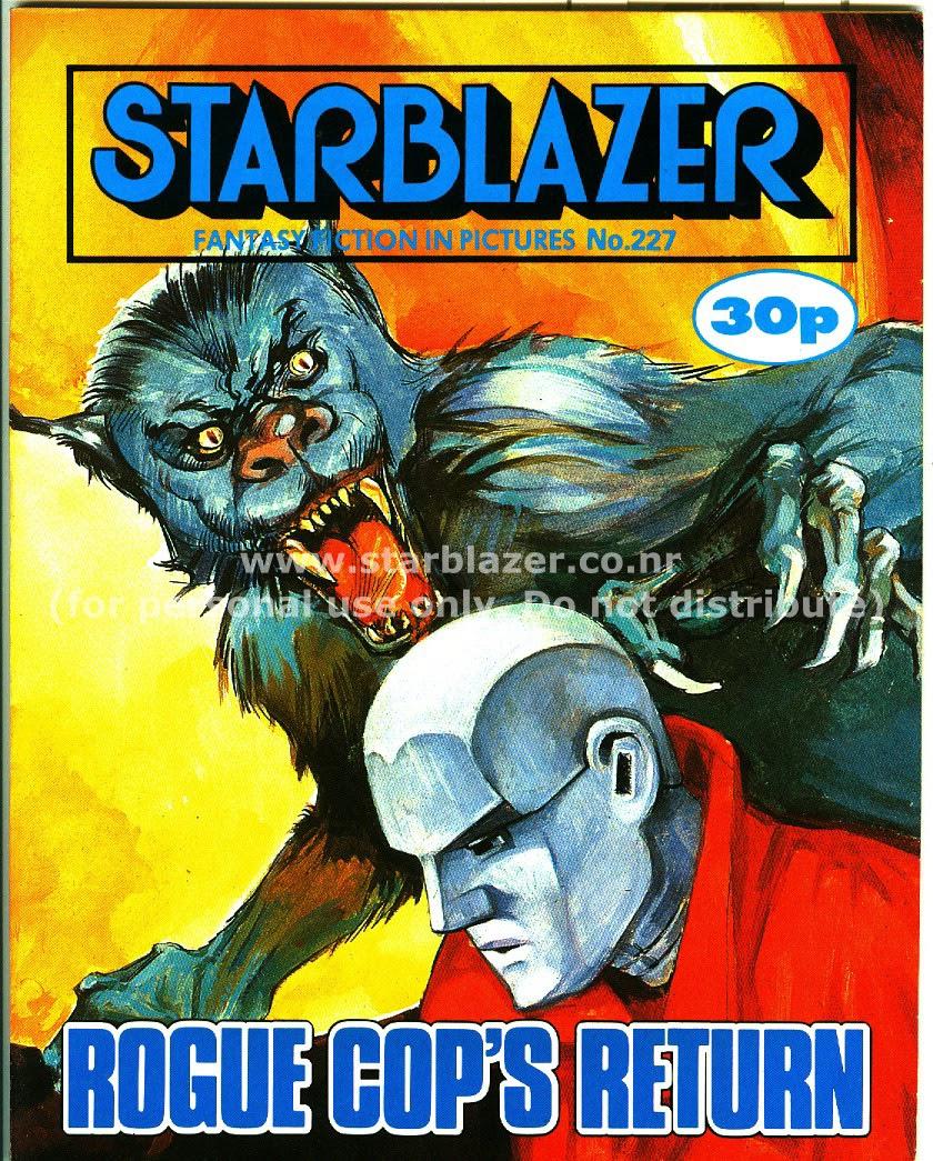 Starblazer issue 227 - Page 1