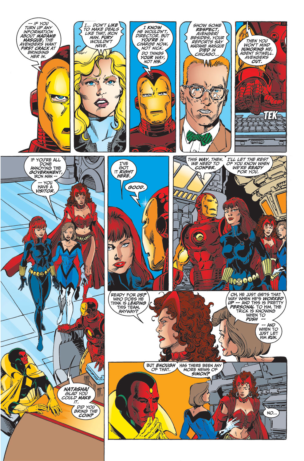 Read online Avengers (1998) comic -  Issue #32 - 4