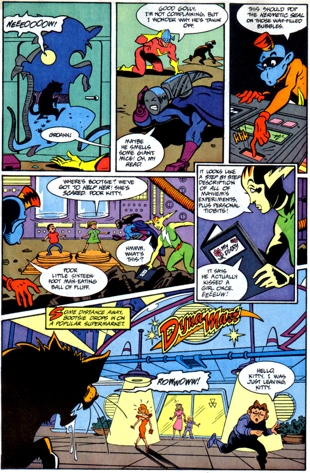 Read online Defenders of Dynatron City comic -  Issue #1 - 13
