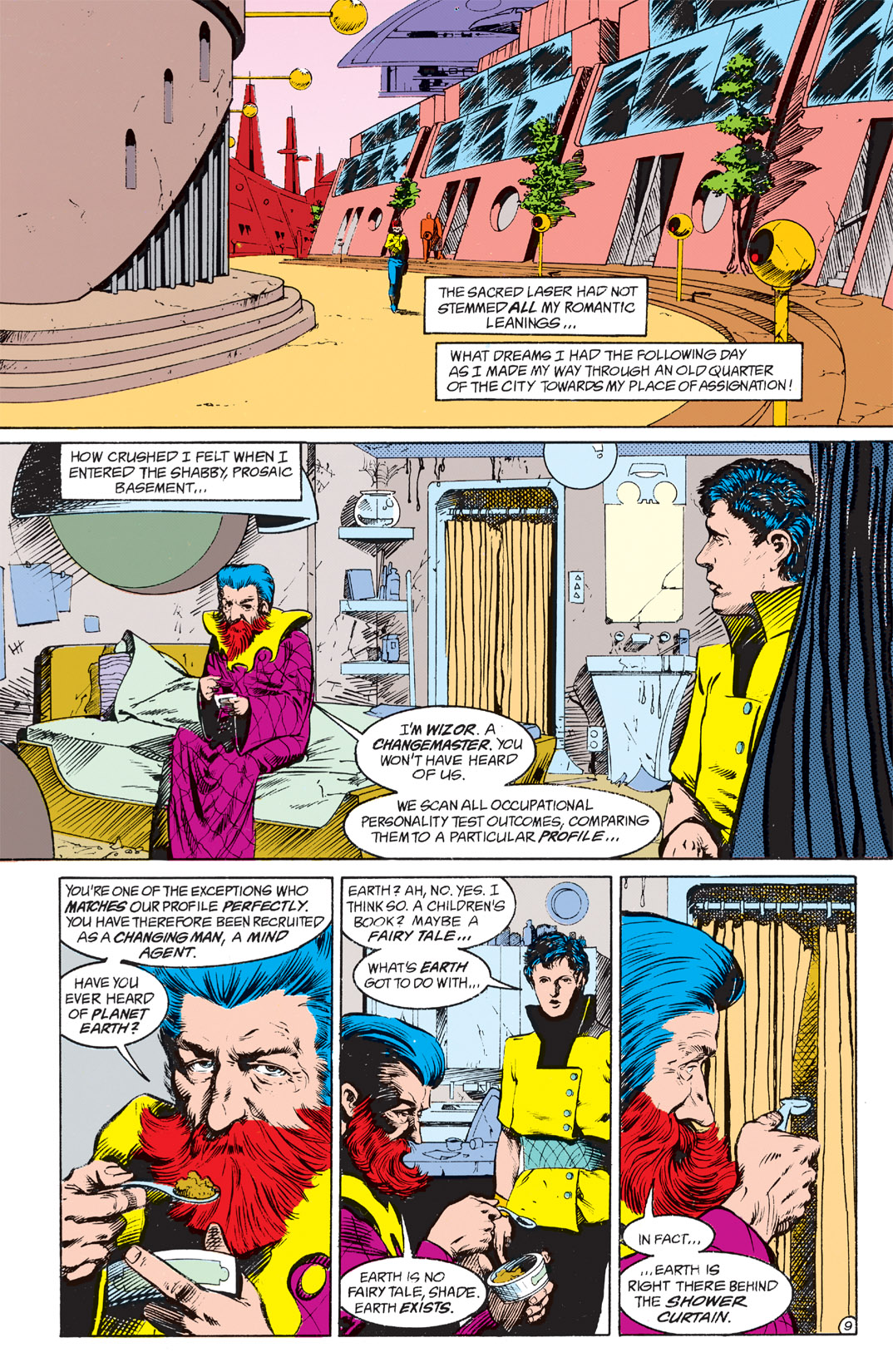 Read online Shade, the Changing Man comic -  Issue #4 - 11