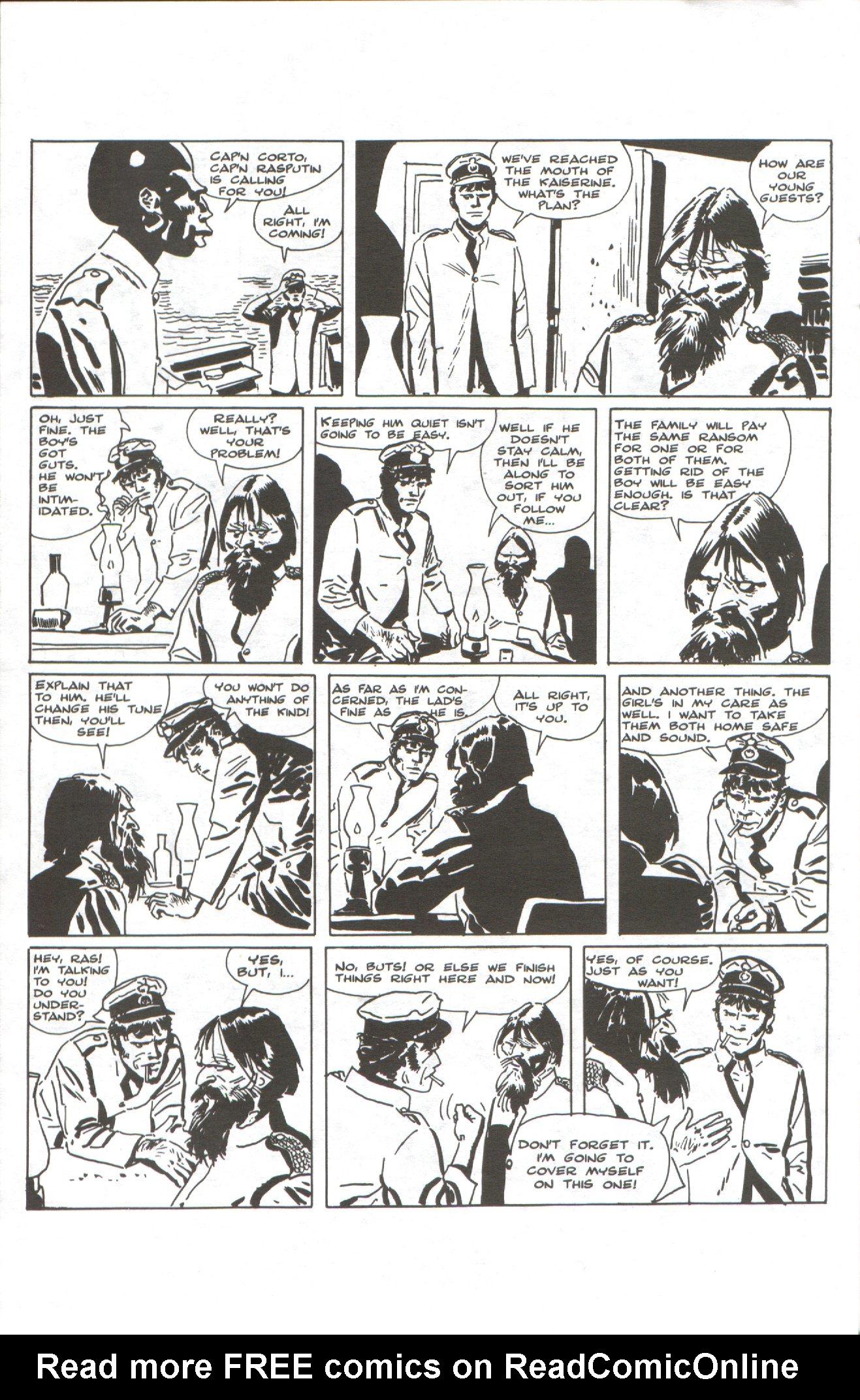 Read online Corto Maltese: Ballad of the Salt Sea comic -  Issue #1 - 20