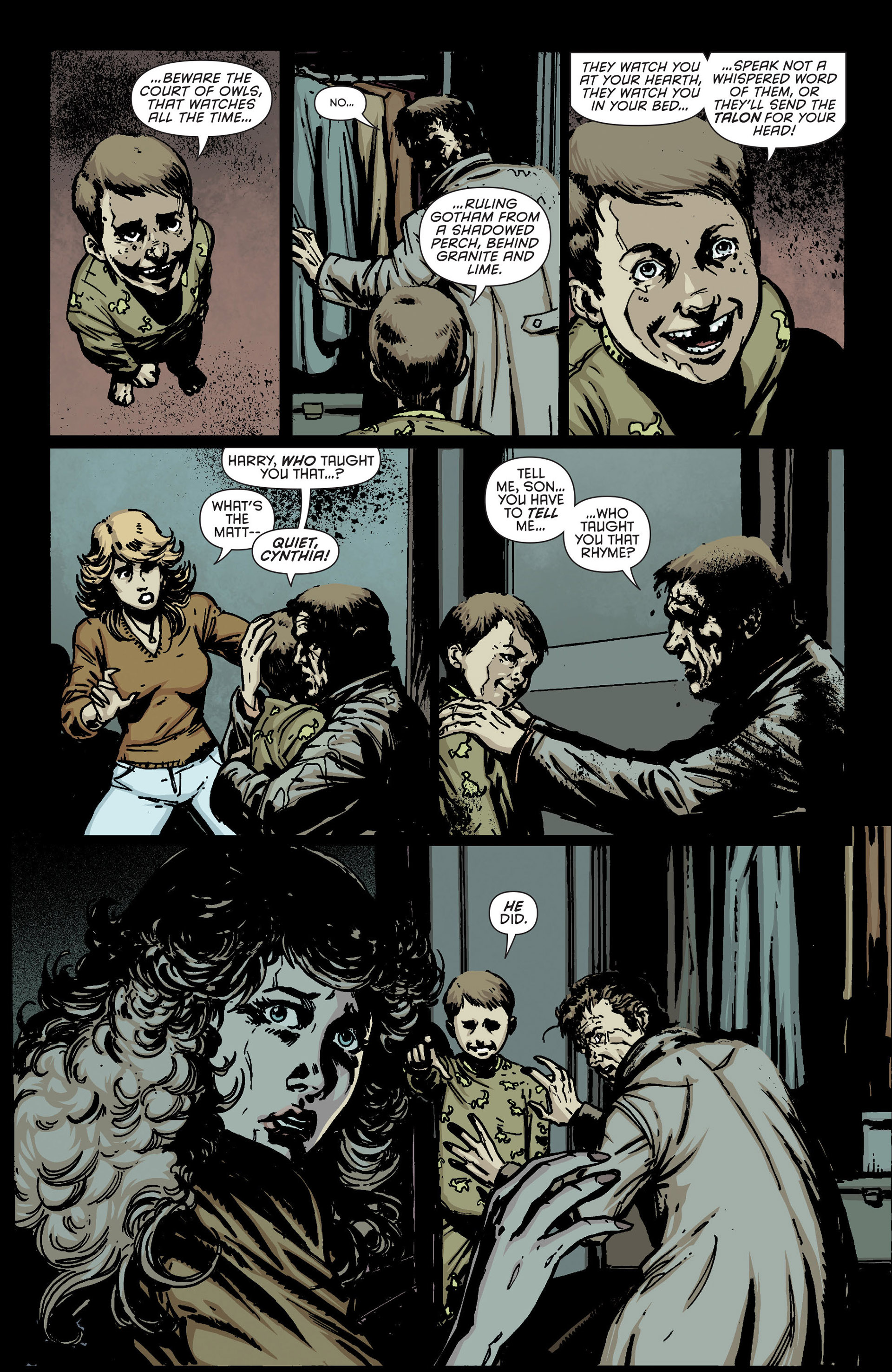 Read online Batman and Robin (2011) comic -  Issue #23.2 - 4
