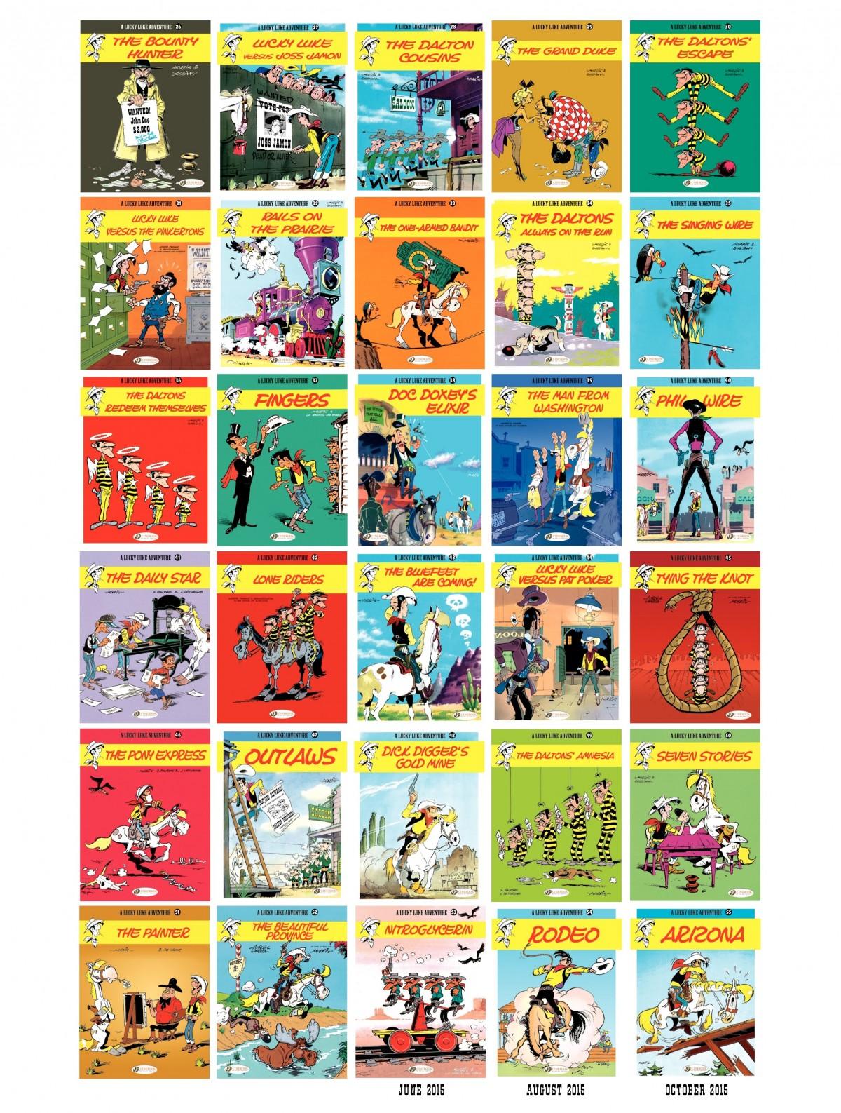 Read online A Lucky Luke Adventure comic -  Issue #52 - 50