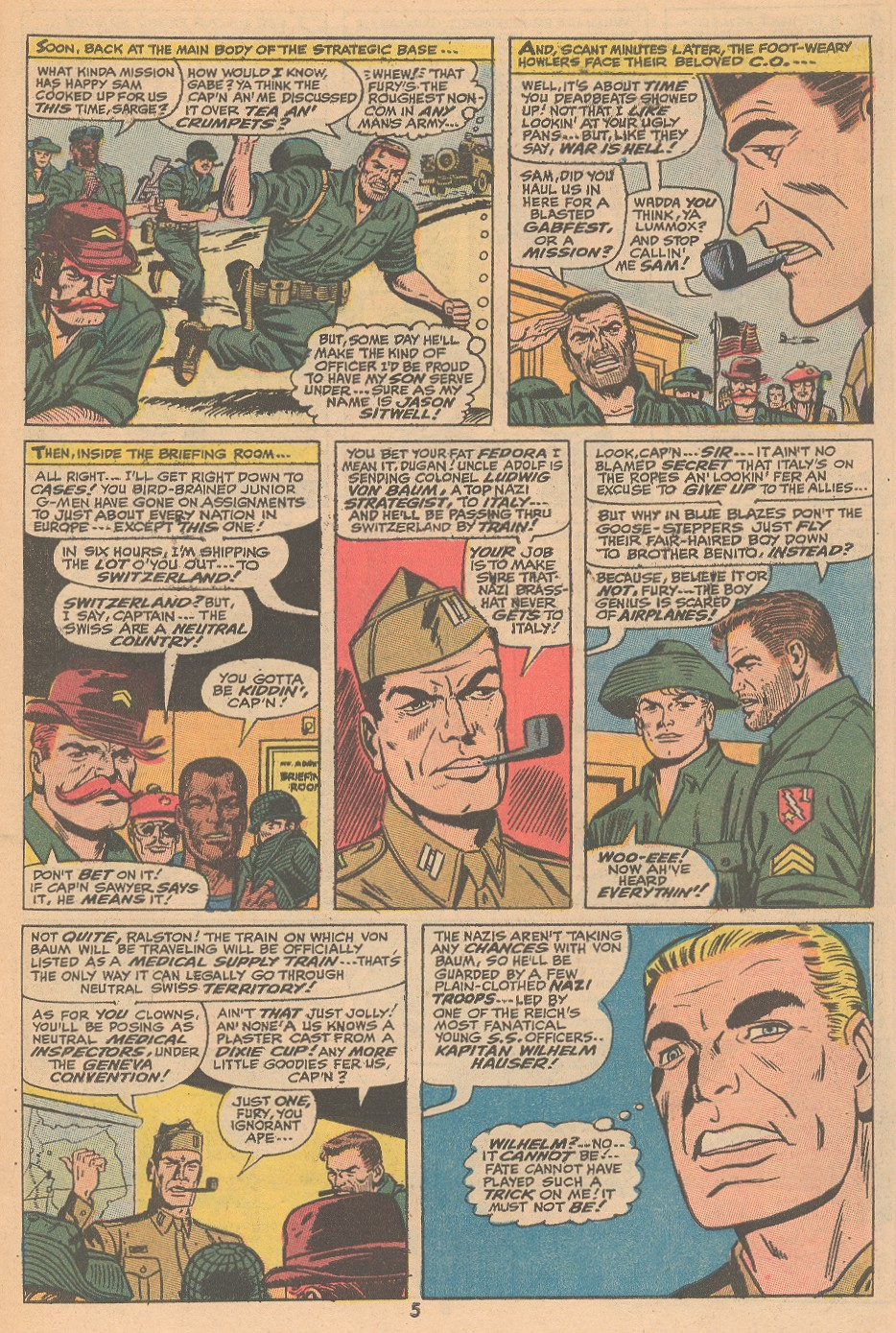 Read online Sgt. Fury comic -  Issue #105 - 7