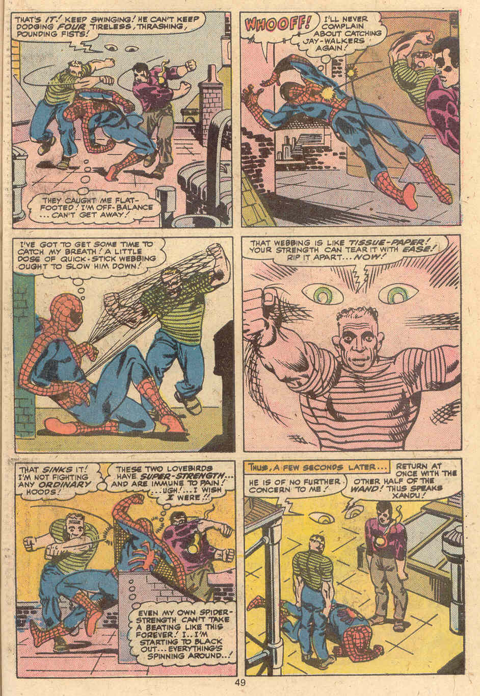 Giant-Size Spider-Man (1974) issue 4 - Page 40