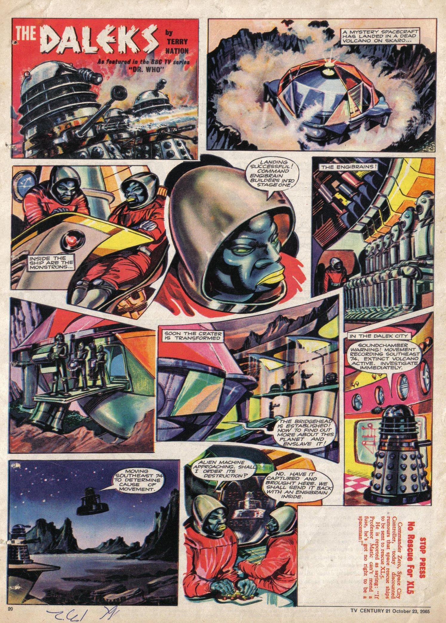 Read online TV Century 21 (TV 21) comic -  Issue #40 - 19