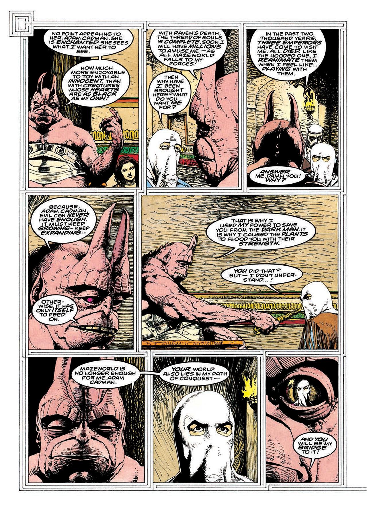 Read online Mazeworld comic -  Issue # TPB - 174