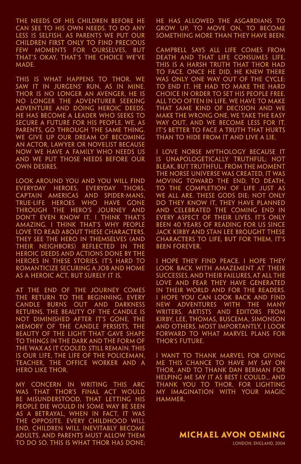Read online Thor: Ragnaroks comic -  Issue # TPB (Part 4) - 89