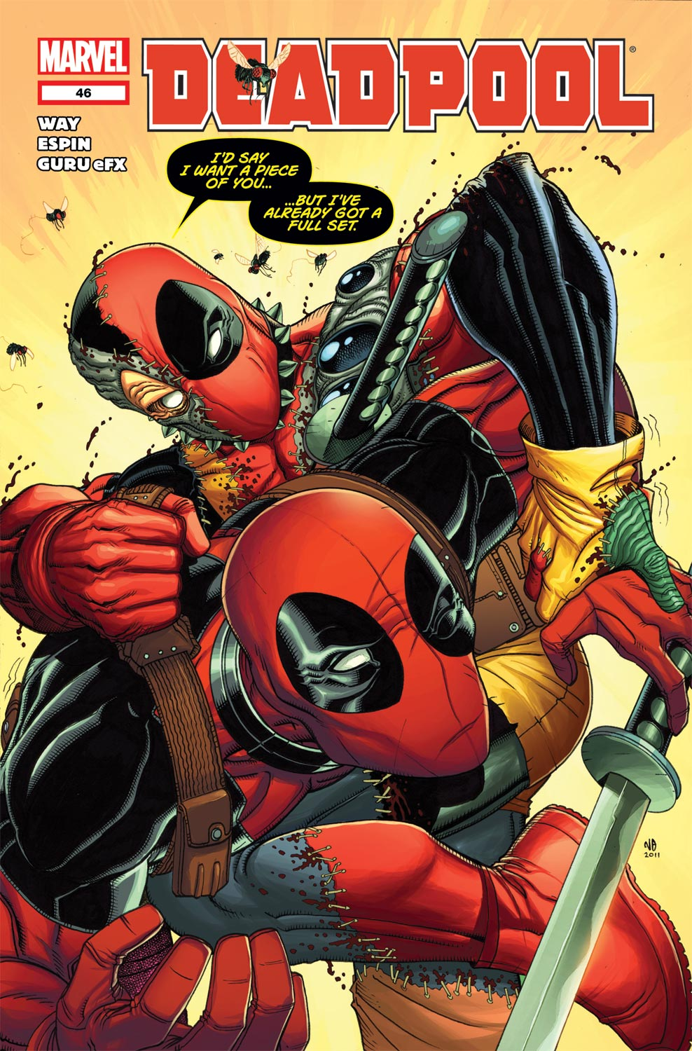 Read online Deadpool (2008) comic -  Issue #46 - 1