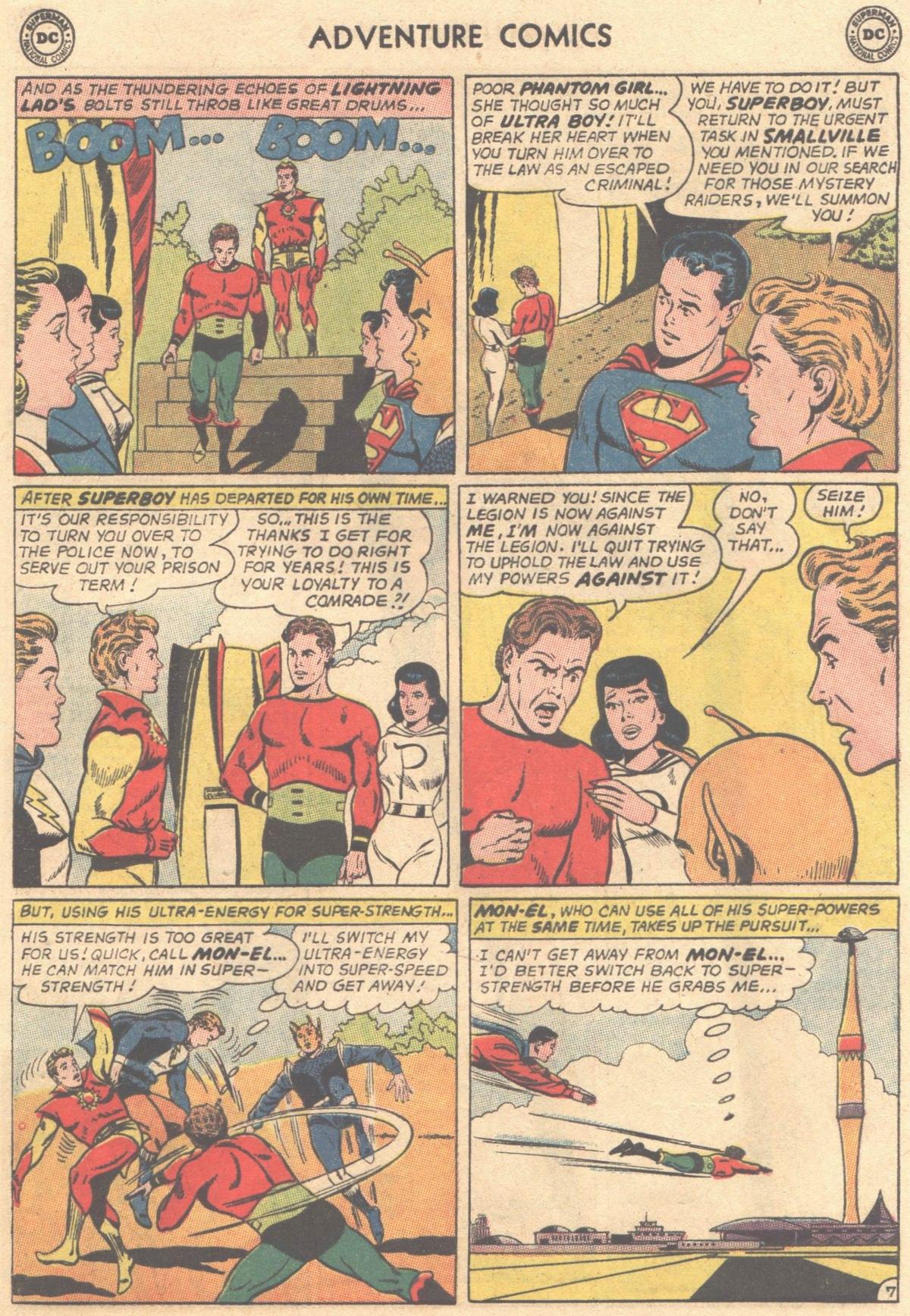 Read online Adventure Comics (1938) comic -  Issue #316 - 9