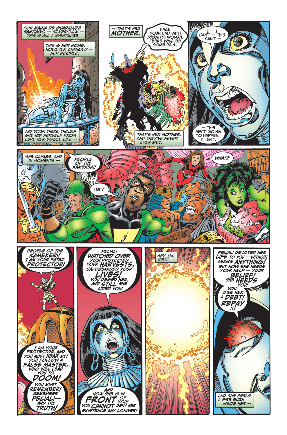 Read online Avengers (1998) comic -  Issue #30 - 17