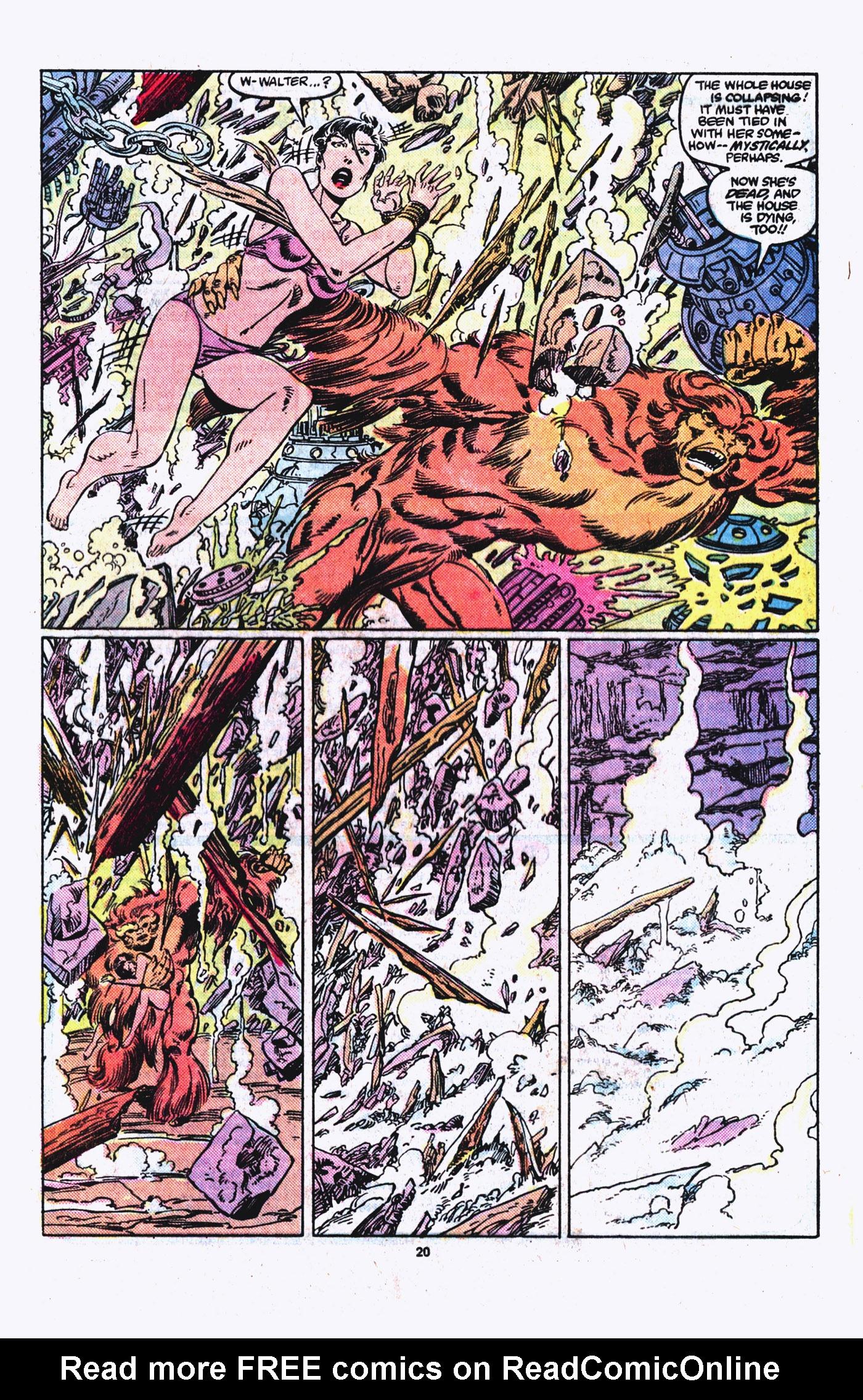 Read online Alpha Flight (1983) comic -  Issue #21 - 21