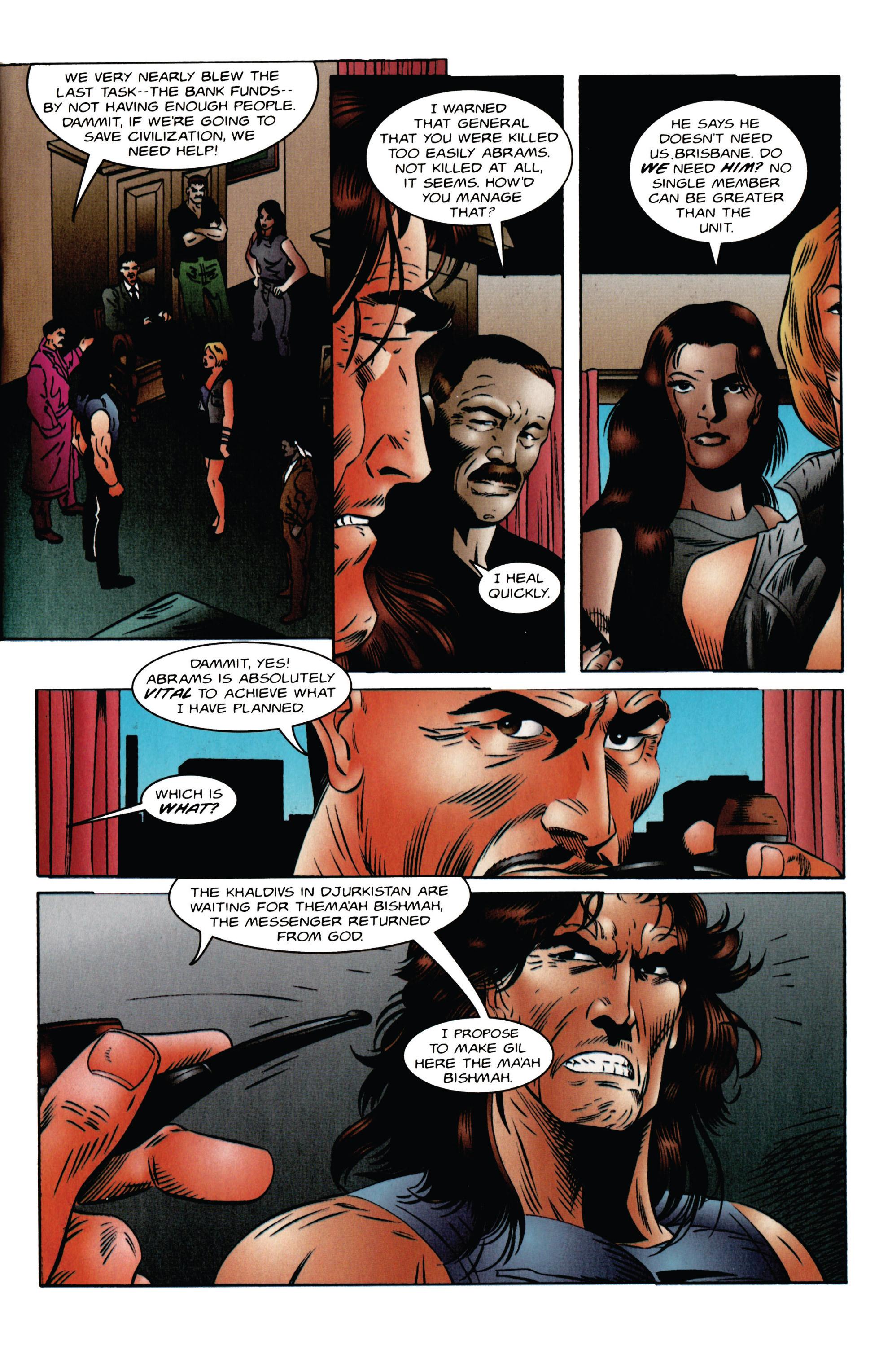 Read online Eternal Warrior (1992) comic -  Issue #47 - 8