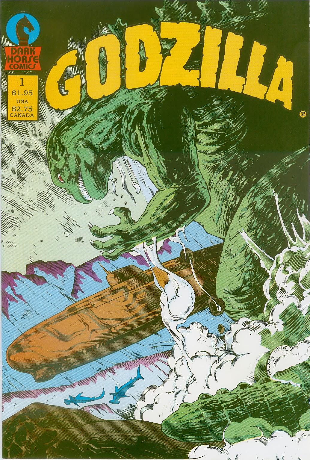 Godzilla (1988) 1 Page 1