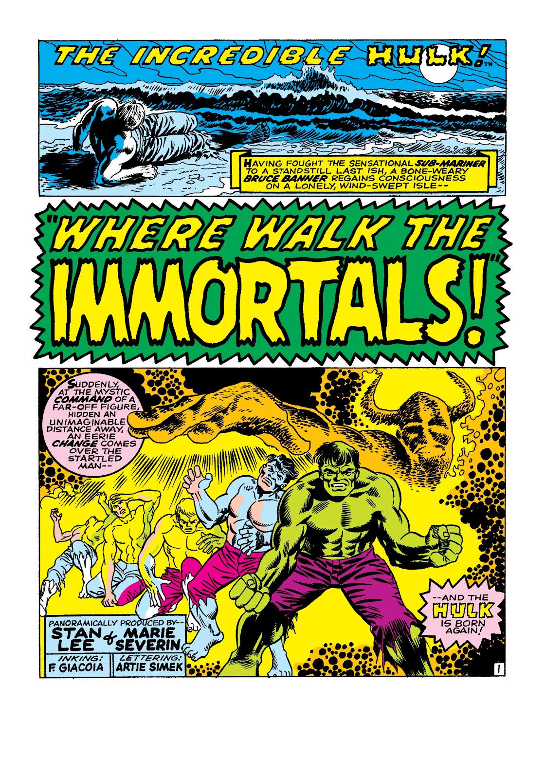 Read online Marvel Masterworks: The Incredible Hulk comic -  Issue # TPB 3 (Part 3) - 52
