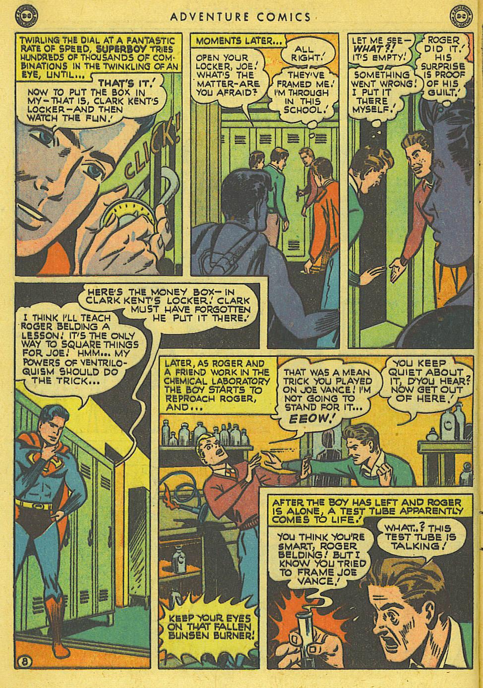 Read online Adventure Comics (1938) comic -  Issue #136 - 10