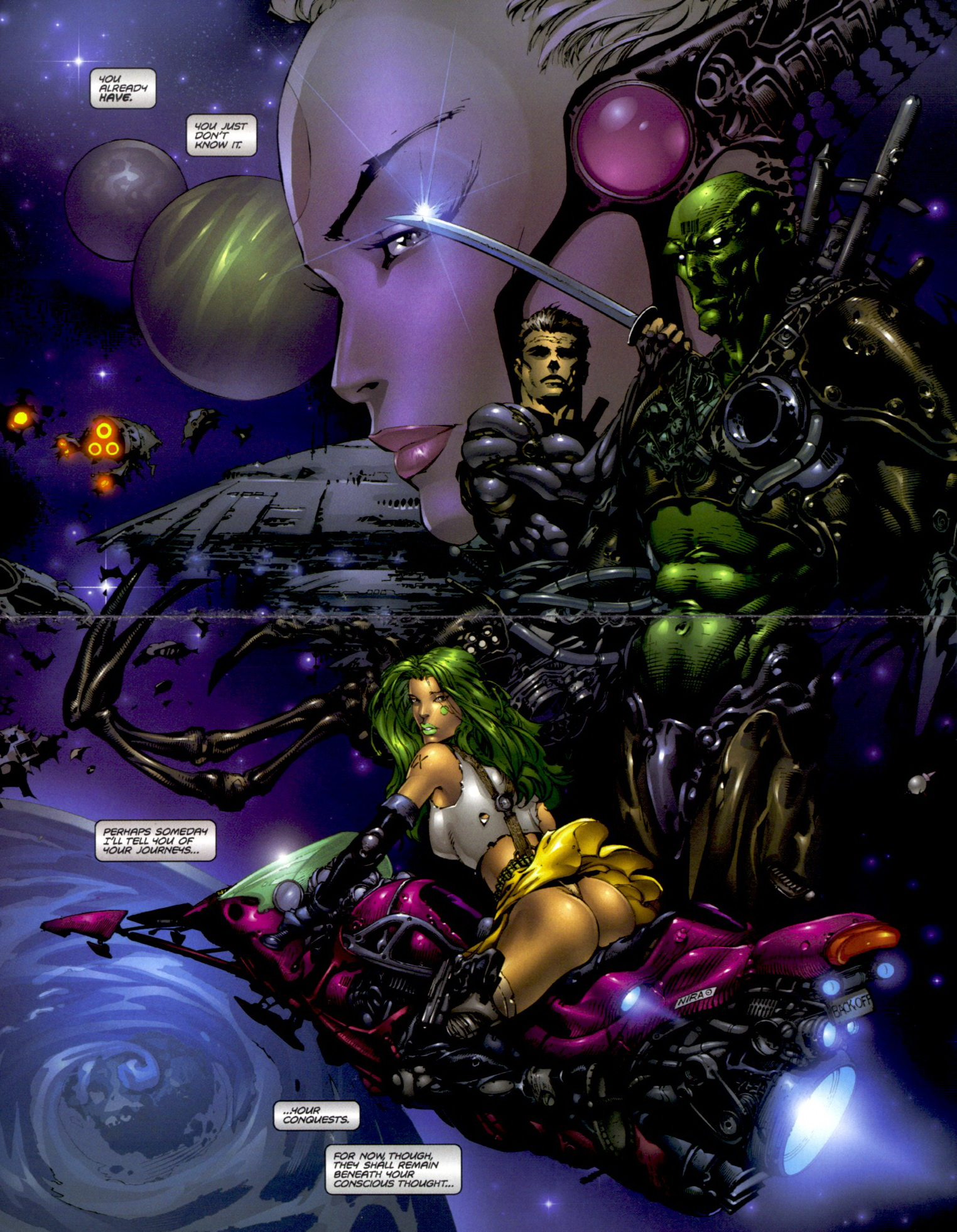Read online Aphrodite IX (2000) comic -  Issue #0 - 9