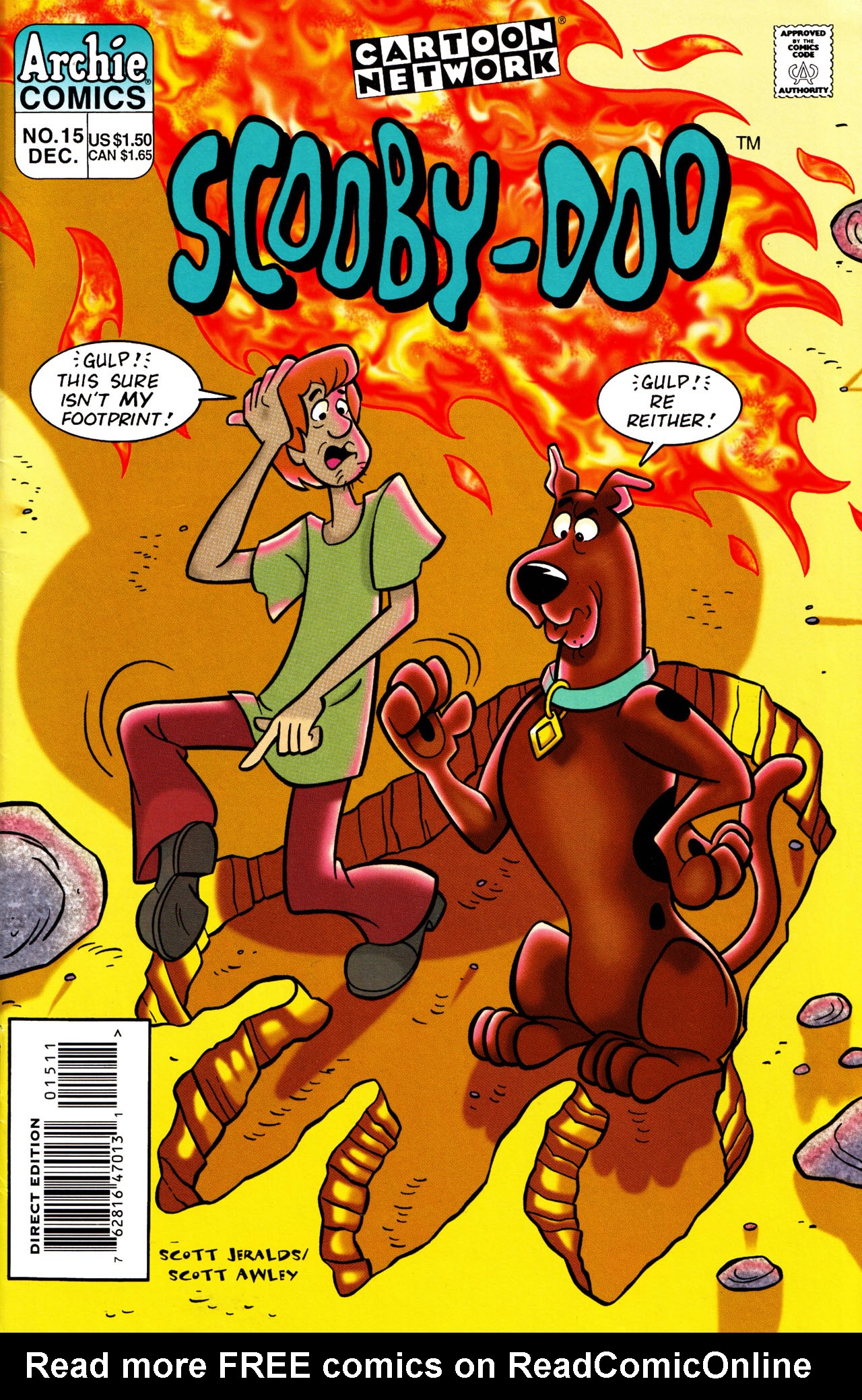 Read online Scooby-Doo (1995) comic -  Issue #15 - 1