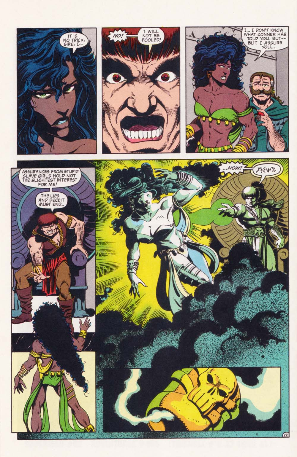 Read online Advanced Dungeons & Dragons comic -  Issue #34 - 22
