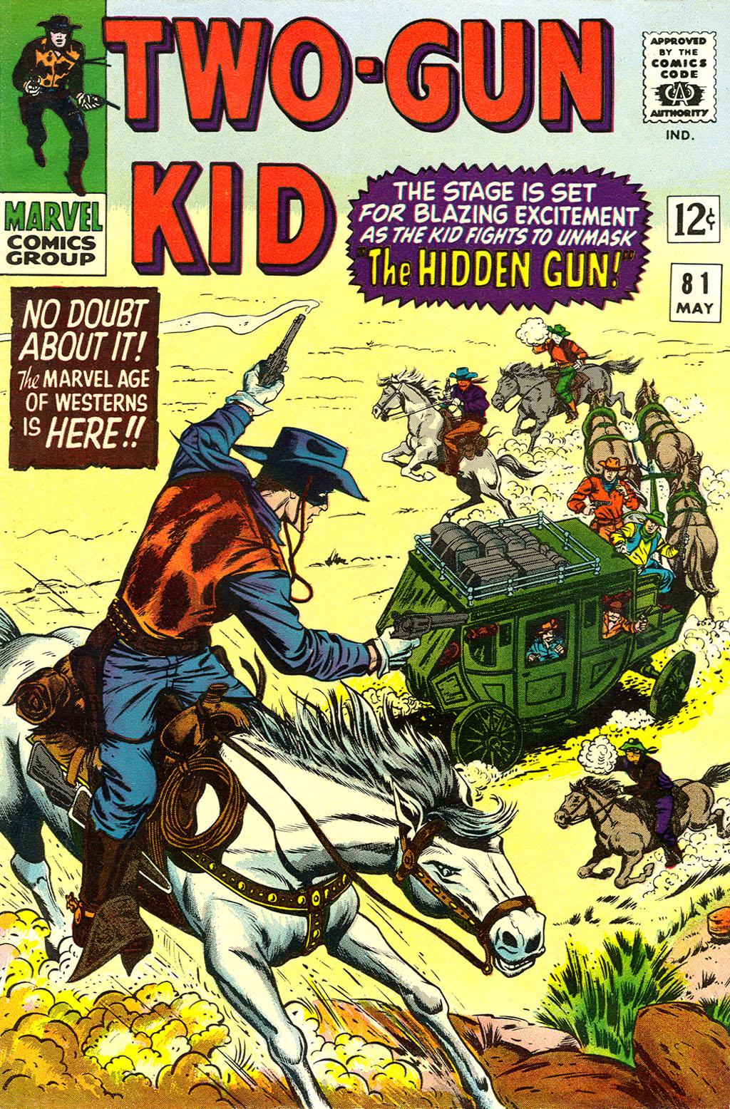 Read online Two-Gun Kid comic -  Issue #81 - 1