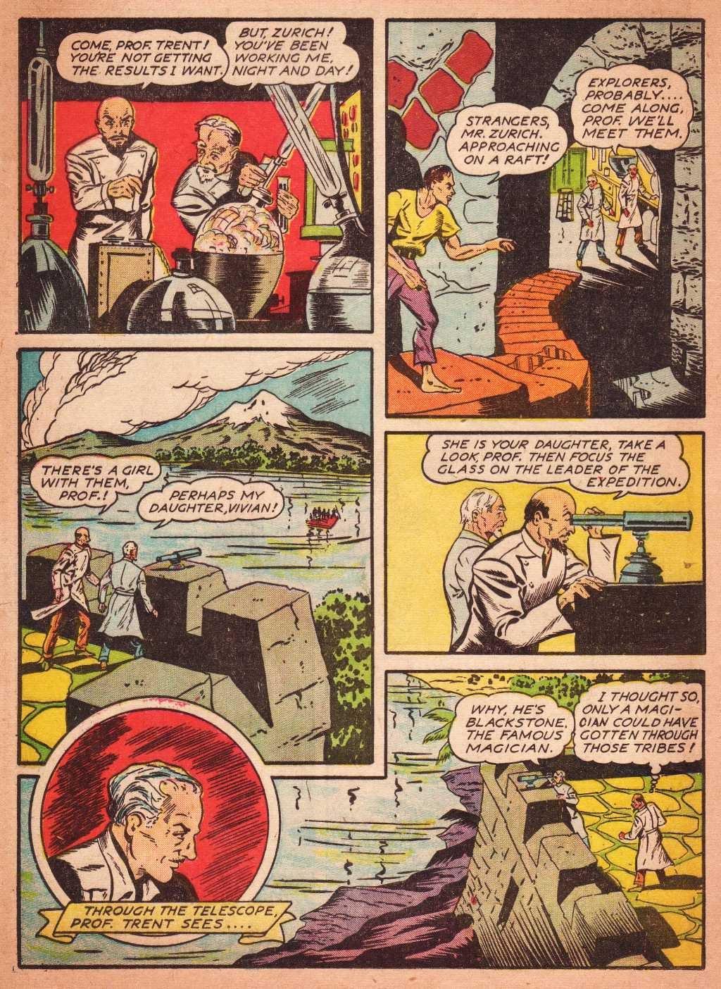 Read online Super-Magician Comics comic -  Issue #2 - 18