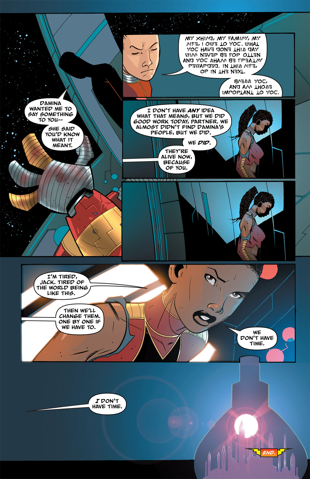 Read online The Many Adventures of Miranda Mercury: Time Runs Out comic -  Issue # TPB - 65