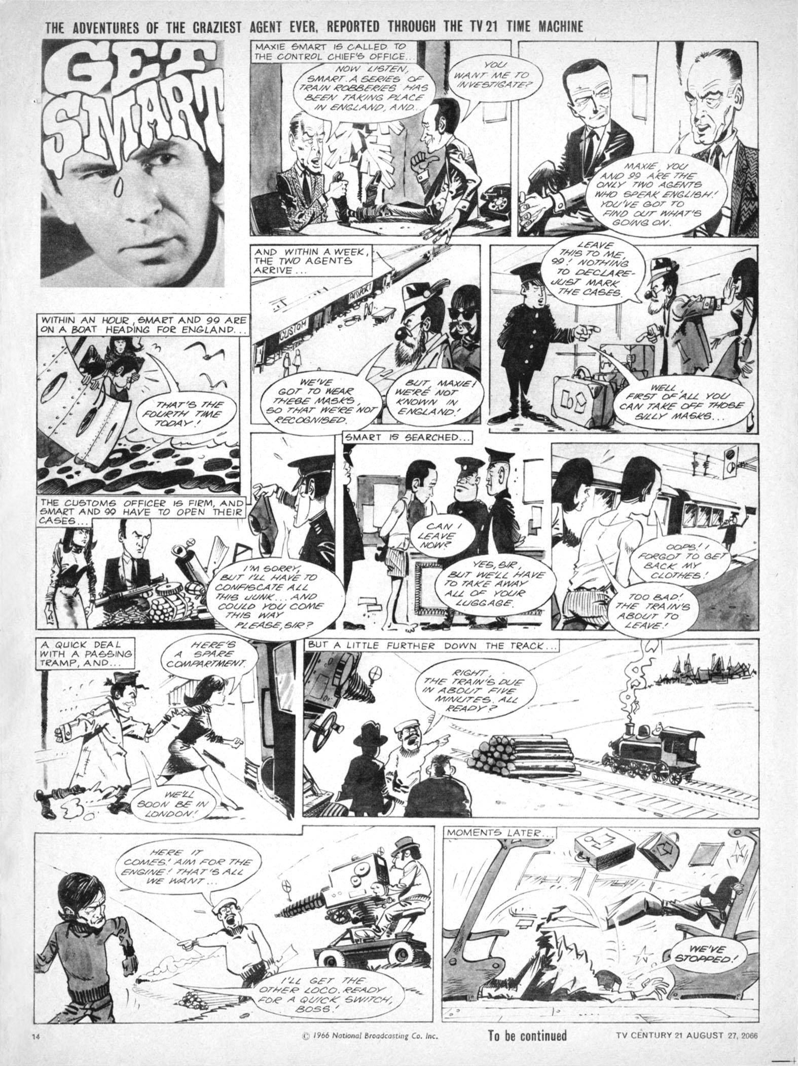Read online TV Century 21 (TV 21) comic -  Issue #84 - 13