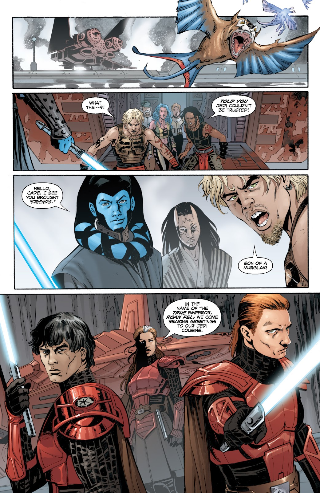 Read online Star Wars Legends: Legacy - Epic Collection comic -  Issue # TPB 2 (Part 2) - 55