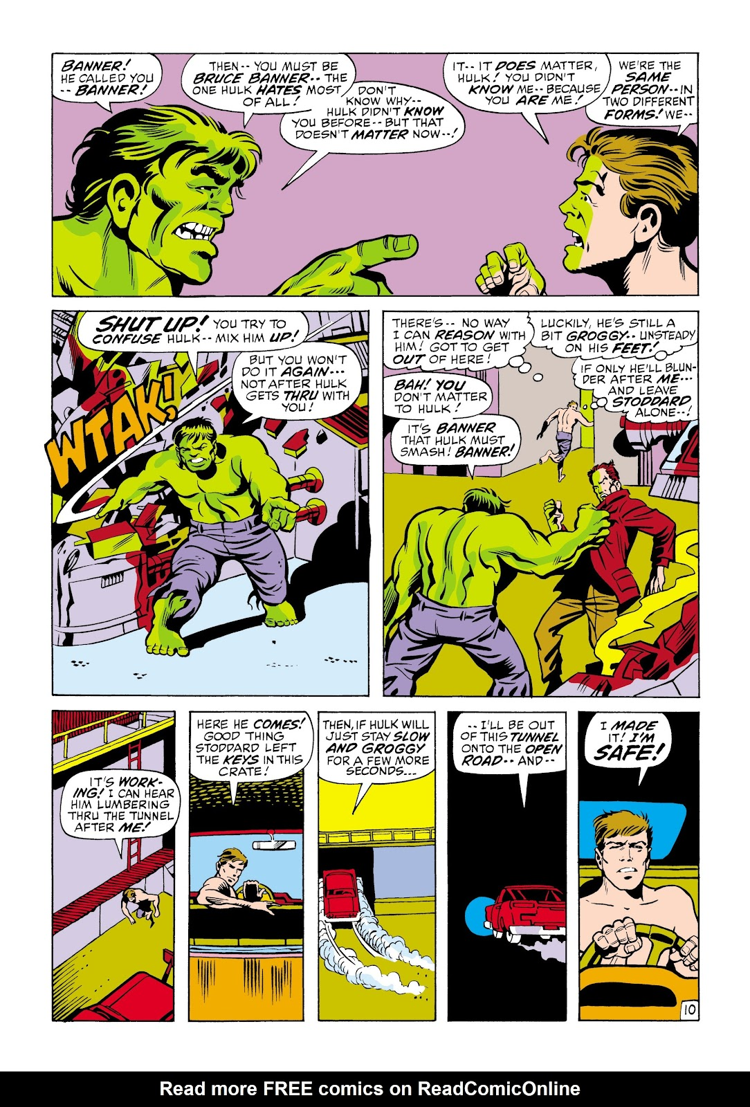 Read online Marvel Masterworks: The Incredible Hulk comic -  Issue # TPB 6 (Part 2) - 84