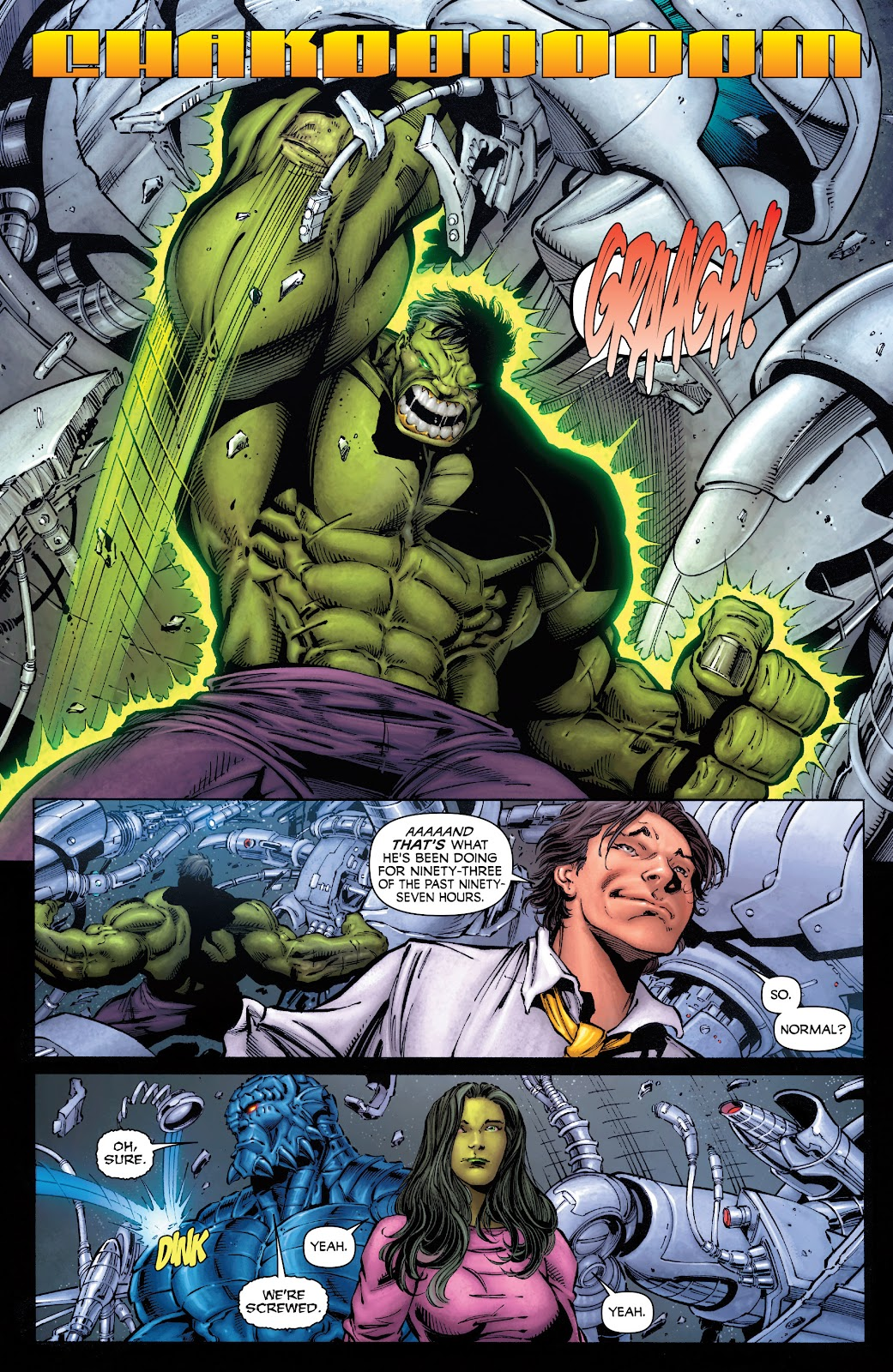 Read online Incredible Hulks (2010) comic -  Issue # _TPB Heart of the Monster - 10