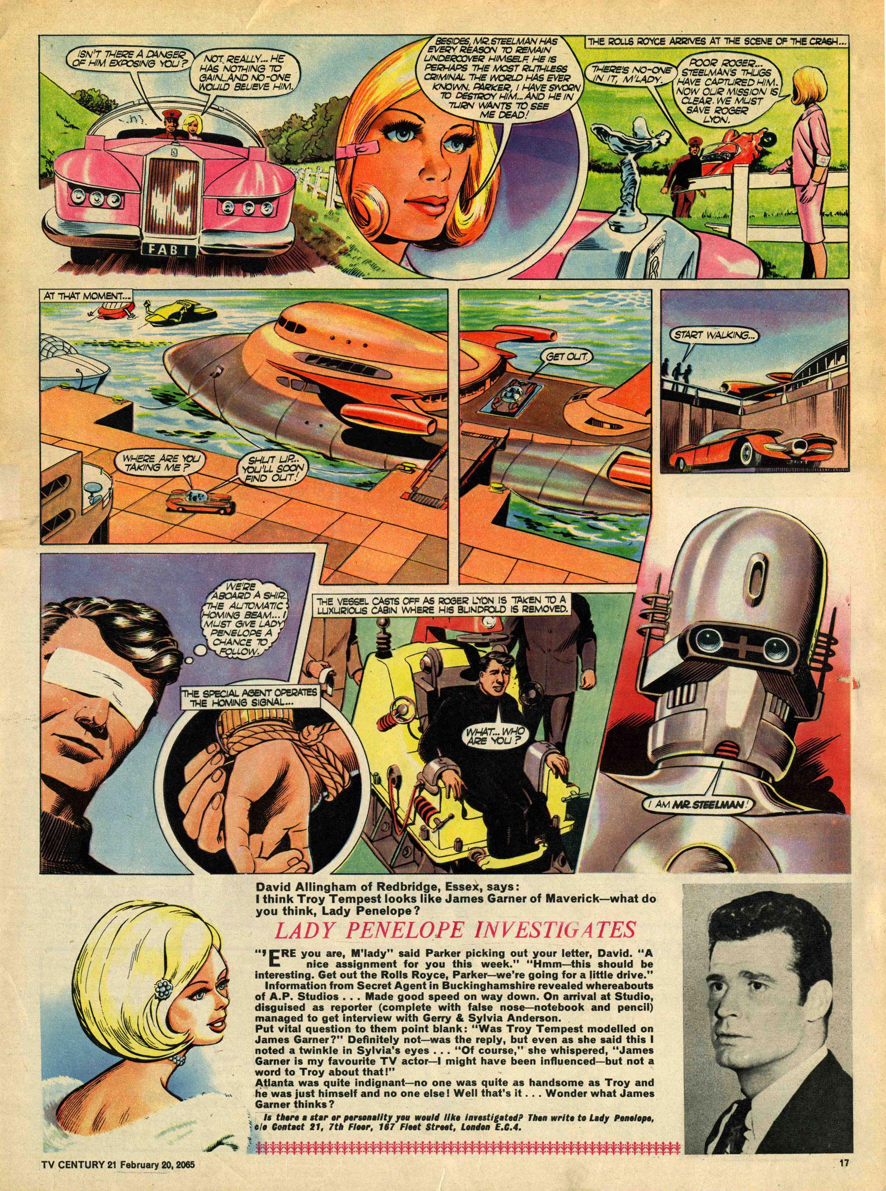 Read online TV Century 21 (TV 21) comic -  Issue #5 - 16