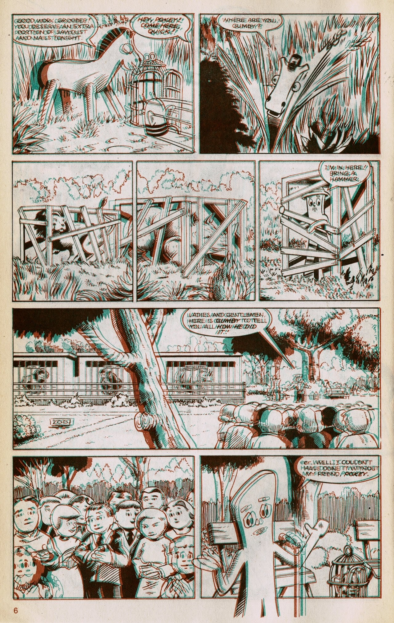 Gumby 3-D issue 1 - Page 8