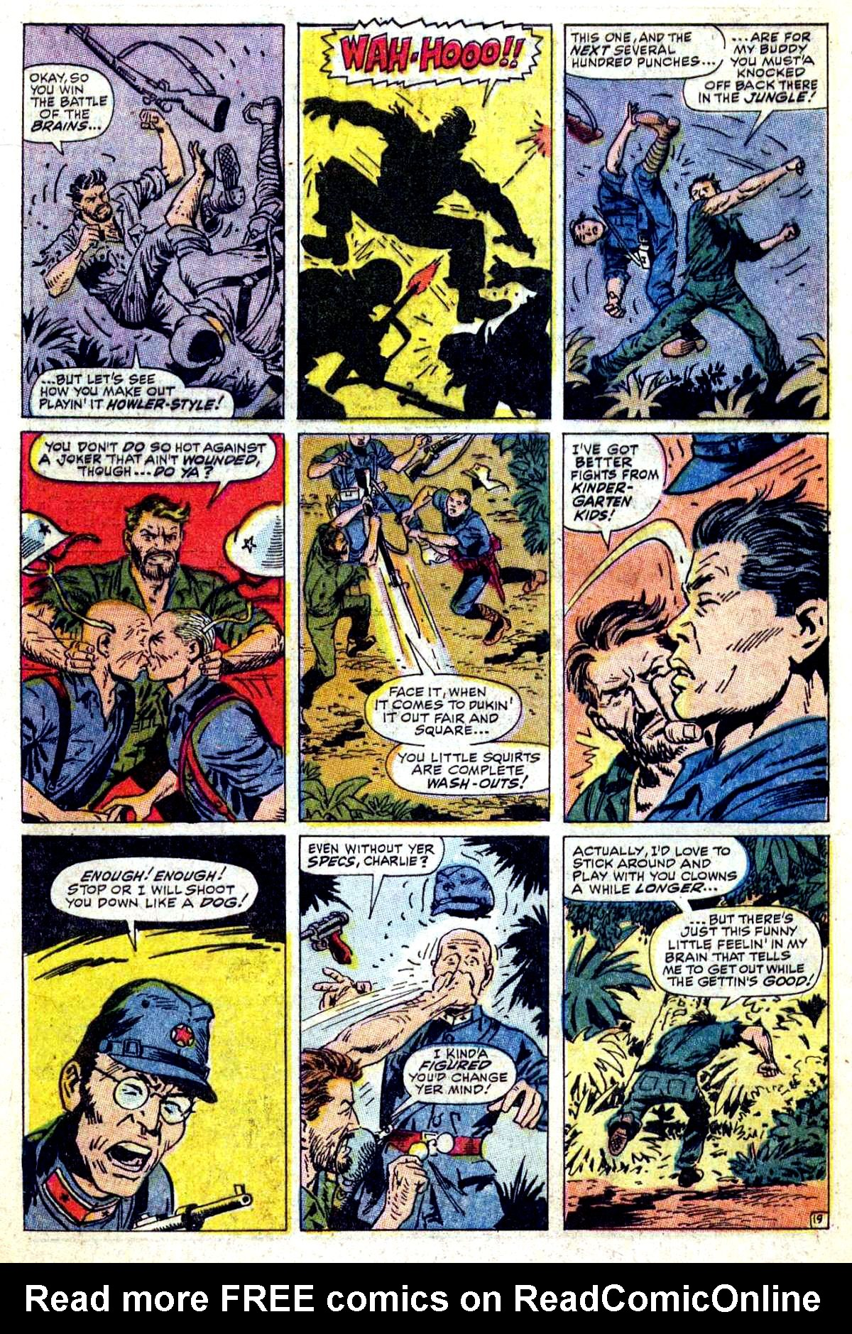 Read online Sgt. Fury comic -  Issue #54 - 28