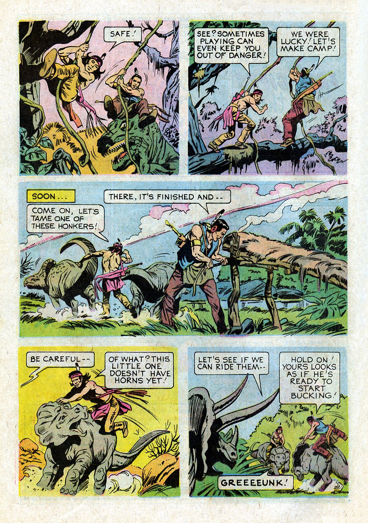 Read online Turok, Son of Stone comic -  Issue #93 - 24